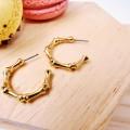 Σκουλαρίκια Golden Seasand