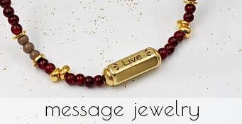 Κοσμήματα με μηνύματα
