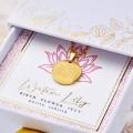 Κολιέ Birth Flower - Water Lily for July